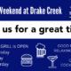 This weekend at Drake Creek